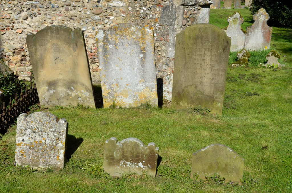 Group of Gravestones