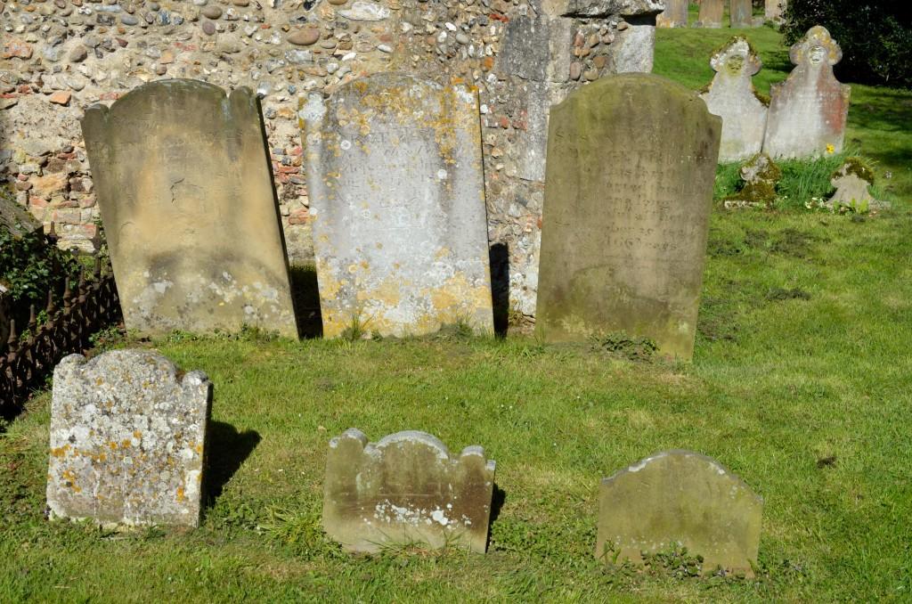 Group of Gravestones