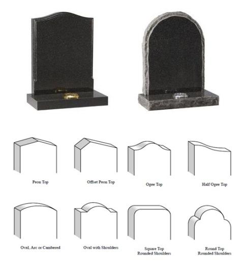 Gravestone Shapes